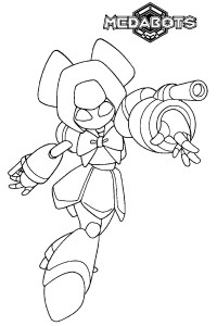 coloring page Medabots (9)