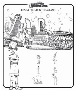 coloring page Meet the Robinsons (10)