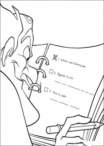 coloring page Meet the Robinsons (15)