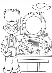 coloring page Meet the Robinsons (16)
