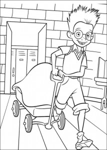 coloring page Meet the Robinsons (19)