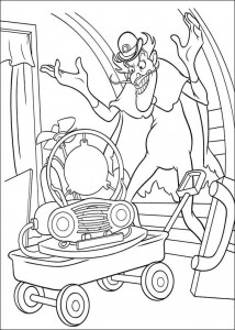 coloring page Meet the Robinsons (25)