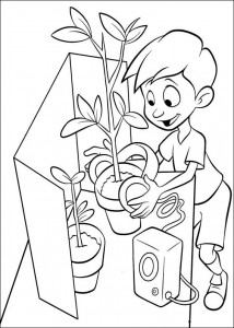 coloring page Meet the Robinsons (27)