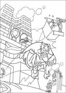 coloring page Meet the Robinsons (3)