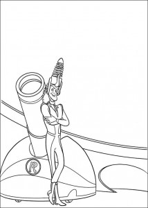 coloring page Meet the Robinsons (30)