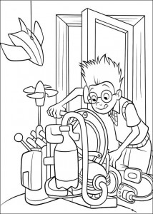 coloring page Meet the Robinsons (33)