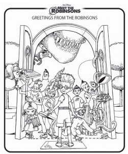 coloring page Meet the Robinsons (6)