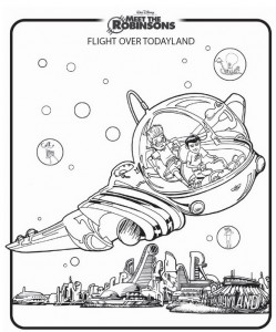 coloring page Meet the Robinsons (9)