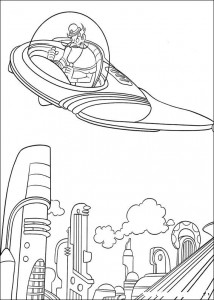 coloring page Meet the Robinsons
