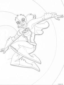 Disegno da colorare Mega Mindy (13)