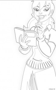 coloring page Mega Mindy (16)