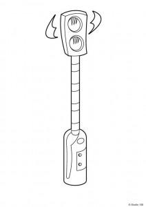 Disegno da colorare Mega Mindy (18)