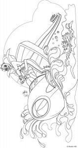 Disegno da colorare Mega Mindy (2)