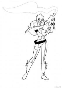 Disegno da colorare Mega Mindy (30)