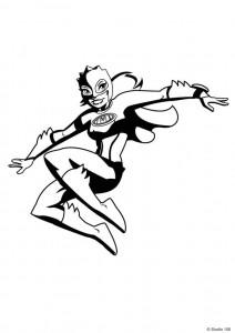 Disegno da colorare Mega Mindy (5)