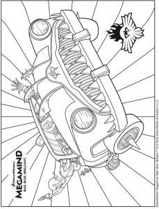 coloring page MegamindK
