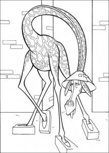 målarbok Melman i cement