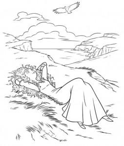 coloring page Merida 2