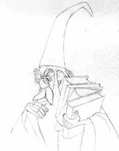 boyama sayfası Merlin