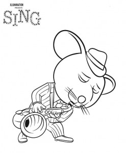 coloring page Mike (1)