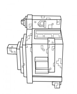 coloring page Minecraft (10)