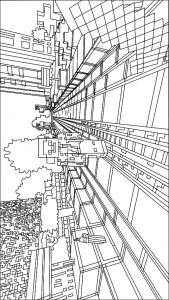 målarbok Minecraft (17)