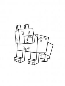 kleurplaat Minecraft (3)