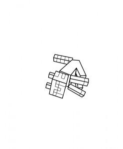 målarbok Minecraft (7)