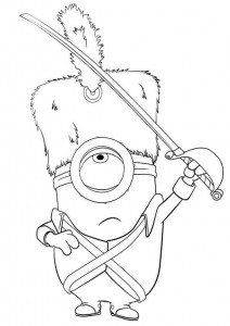 coloring page minions 05