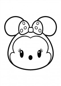 coloring page minnie (2)