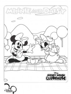 coloring page minnie og katrien (2)