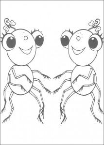 målarbok Miss Spider (12)
