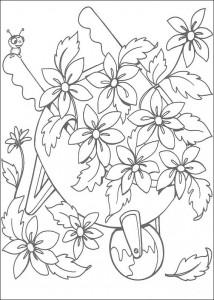 kleurplaat Miss Spider (3)