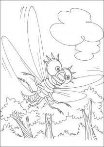 kleurplaat Miss Spider (6)