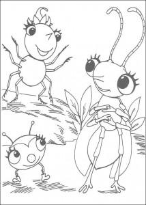 kleurplaat Miss Spider (9)