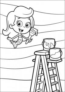 målarbok Molly