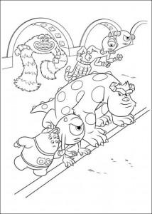 målarbok Monsters University (19)