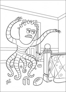 målarbok Monsters University (24)