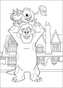 målarbok Monsters University (34)