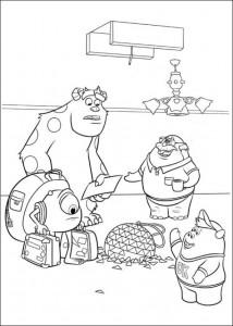 målarbok Monsters University (5)