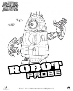 coloring page Monsters vs Aliens (17)