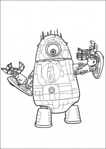 coloring page Monsters vs Aliens (8)