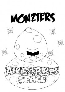 monzters coloring page