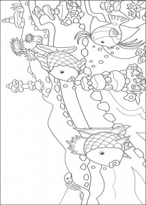 coloring page Most beautiful fish of the sea (2)