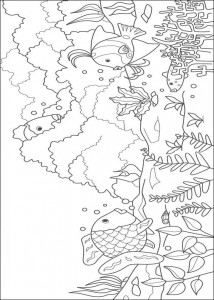 coloring page Most beautiful fish of the sea (4)