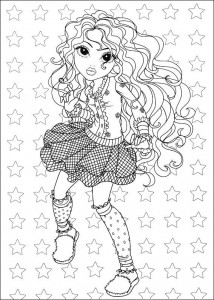coloring page Moxie Girlz (3)