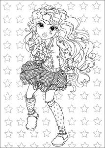 kleurplaat Moxie Girlz (3)