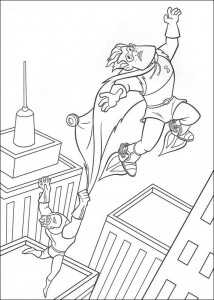 coloring page Incredible