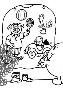 Disegno da colorare Mr Men e Litltle Miss (1)