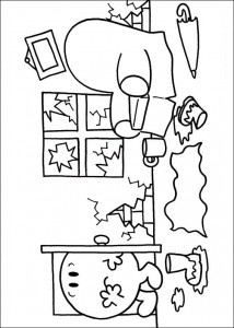 Disegno da colorare Mr Men e Litltle Miss (12)